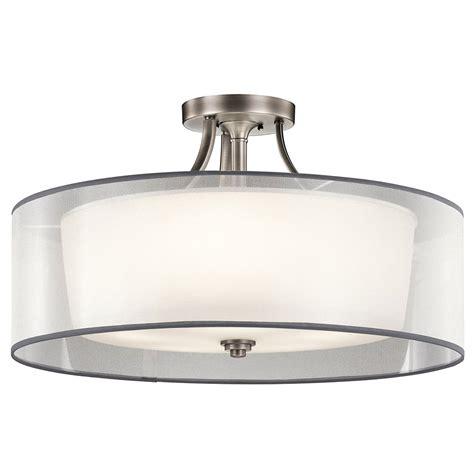 kichler 42399ap antique pewter ceiling light fixture