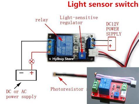 Adjustable Light Sensor Switch Photoresistor