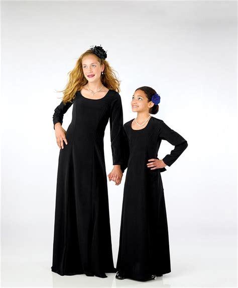 Choir Dresses Long Sleeved