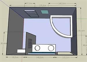 Implantation Salle De Bain : besoin d 39 aide pour implantation salle de bain 17 messages ~ Dailycaller-alerts.com Idées de Décoration