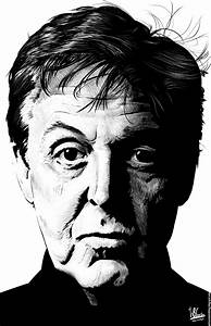 Paul McCartney (Ink Drawing) by wilson-santos on DeviantArt