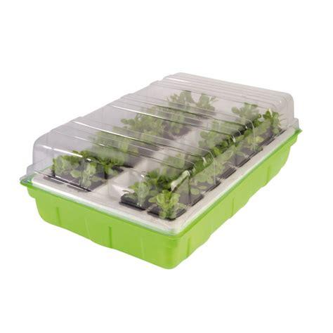 batterie de cuisine professionnel mini serre semences semis 40 godets destockoutils