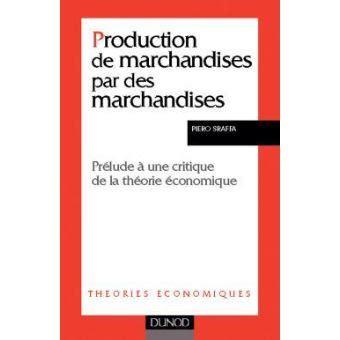 production de marchandises par des marchandises prelude