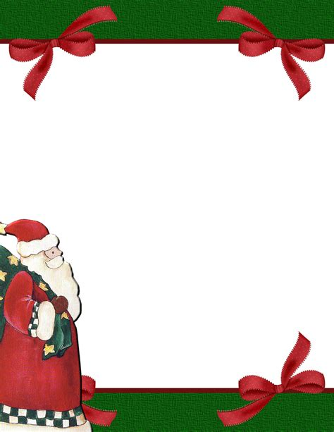 free christmas stationery 2 free stationery template downloads