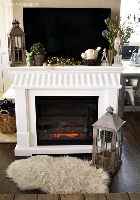 decorating fireplace mantel with tv above home tour fireplace mantles tv decor fireplace