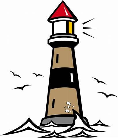 Lighthouse Clipart Clip Cartoon Clipartion Related