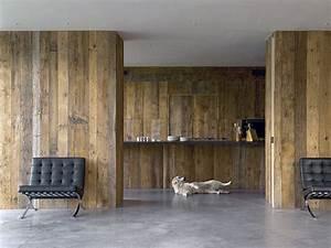 Mur Interieur En Bois De Coffrage : bois anciens atmosphere bois ~ Premium-room.com Idées de Décoration