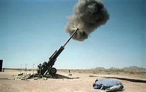 Marine Artillery Xm777 Lightweight 155mm Howitzer Lw155