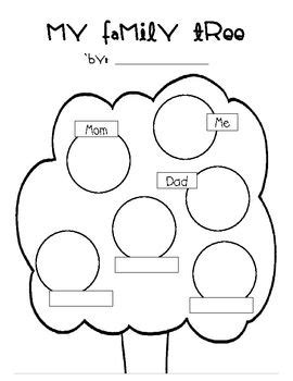 family tree graphic organizer  images family