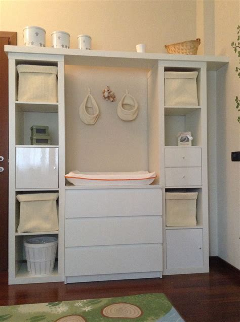 nursery changing table malm expedit  accessories