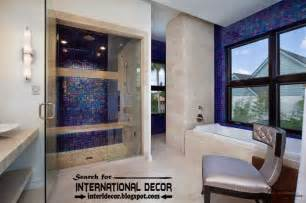 blue tiles bathroom ideas beautiful bathroom tile designs ideas 2017