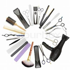 Beauty salon and barbershop background - professional ...