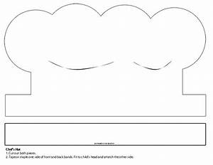 printable chef hat template 28 images chefs hat With chef hat template printable