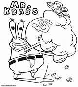 Krabs Mr Coloring Printable Drawing Money Bag Jungle Junction Coloringway Sketch Credit Larger Getdrawings Rapunzel sketch template