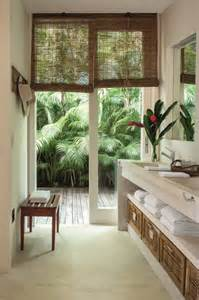 Palm Leaf Ceiling Fan Blades by Remodelaholic Inspiration File Modern Tropical Style