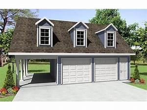 Woodwork Detached Garage With Carport Plans PDF Plans