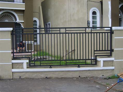contoh pagar rumah minimalis modern rumah minimalis
