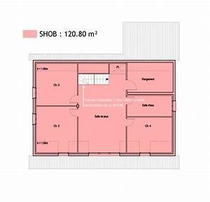 prix d une maison bbc de 100m2 chauffage rt2012 With loi carrez dimension chambre