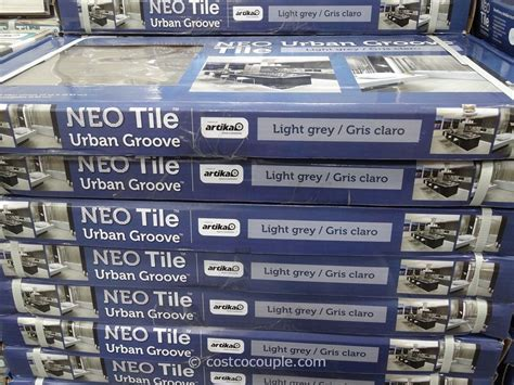 neo tile groove light grey porcelain tile
