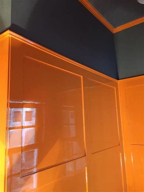 finepaintsofeurope paint hermes orange powderroom
