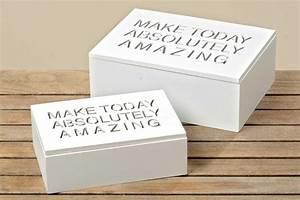 Holzkiste Weiß Mit Deckel : holzbox amazing shabby chic holzkiste aufbewahrungs box in wei ~ Bigdaddyawards.com Haus und Dekorationen