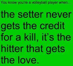 I'm an outs... Setter And Hitter Quotes