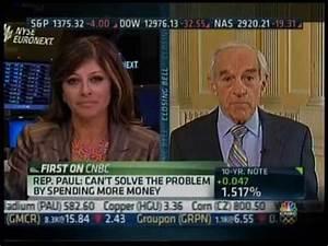 Congressman Ron Paul on CNBC's 'Closing Bell' with Mari ...