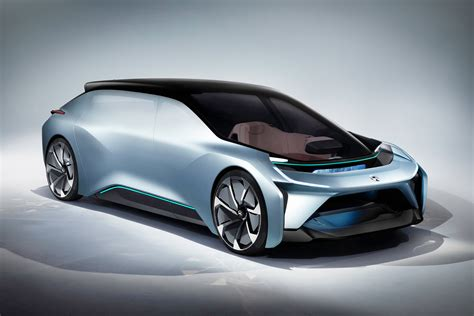 Electric car Nio Eve on a gray background wallpapers and ...