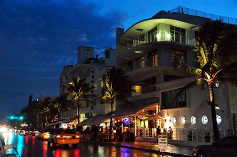 Fileocean Drive South Beach Miami Night Wikimedia