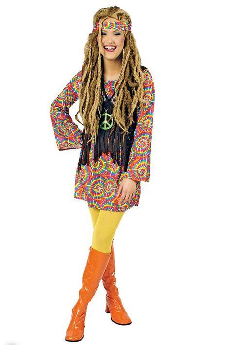 70 er jahre kleidung hippie kleid hippie kost 252 m flower power 60er 70er jahre psycho damen kost 252 m kk kaufen bei kl