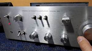 Vamos Testar Um Amplificador Gradiente Model 120