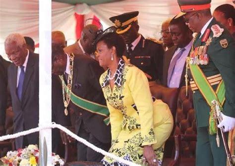 grace mugabe sexy mugabe sacks defence chief for staring at his wife s big
