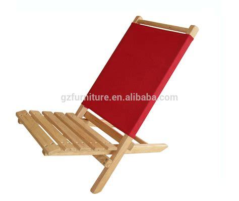 chaise pliante en bois extérieur en bois des chaises de plage chaise longue