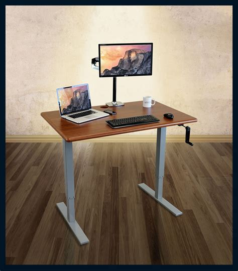 stand up desk reviews imovr thermodesk ellure manual stand up desk review