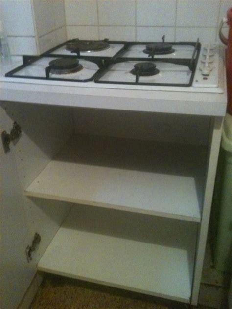 electrique cuisine meuble pour plaque electrique cuisine en image