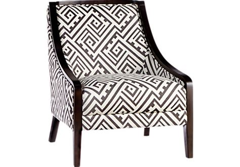 reina black accent chair accent chairs black