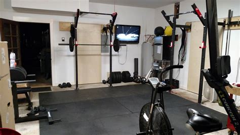 share  home gym setup crossfit