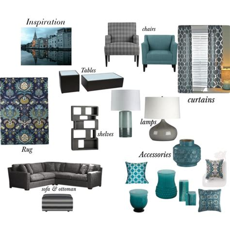 Target Threshold Chair by Gray Amp Teal Living Room Polyvore