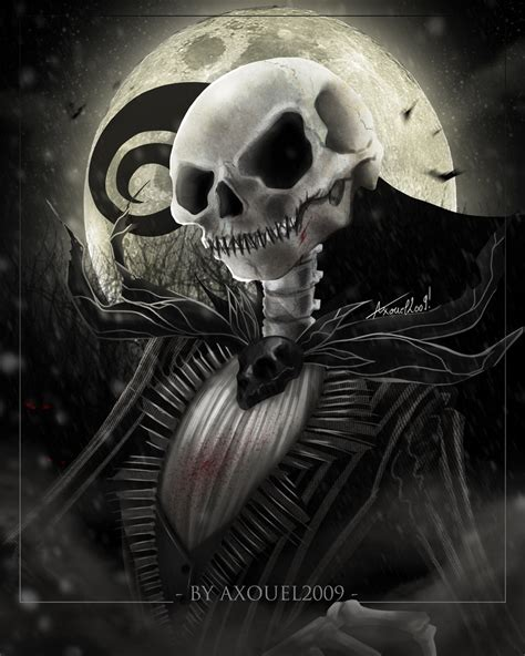 Nightmare Before Christmas Jack Skellington Wallpaper Jack Skellington By Axouel2009 On Deviantart