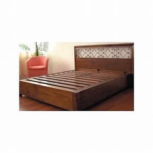 Letto mod berlino 1 piazza letti in legno massello con for Letti legno massello