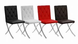 Chaises Cuisine Confortables : chaises mobilier cuir ~ Teatrodelosmanantiales.com Idées de Décoration