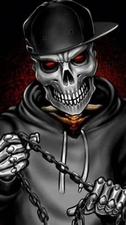 Skull Zedge Wallpapers 7d Boys 3d Gangster