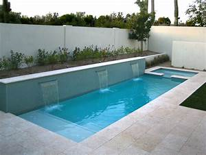 Swimming pools in small spaces alpentile glass tile for Small pool designs