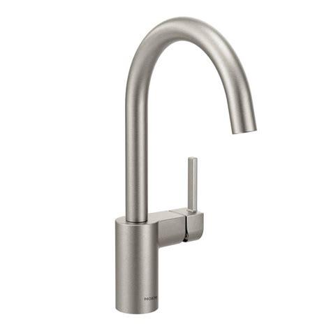 moen banbury high arc 2 handle standard kitchen faucet