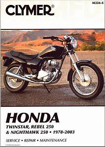 Honda Cm185 Cm200 Cm250 Cb250 Cb Cm 185 200 250 Nighthawk