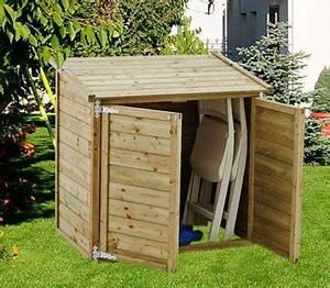 Meuble De Rangement Exterieur : un coffre de jardin en bois pour rangement ext rieur ~ Teatrodelosmanantiales.com Idées de Décoration