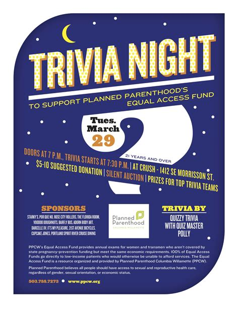 trivia night flyer templates ahuja saynsumthn 39 s blog