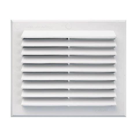 grille de ventilation grille de ventilation rectangulaire en pvc blanc 224 clipser