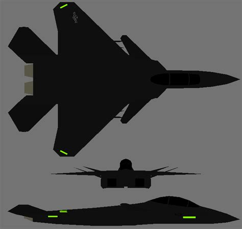 F-15x 3-view By Copperheadysf23 On Deviantart