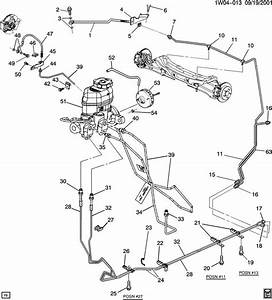2004 Chevy Tahoe Brake Line Diagram